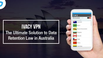 Australian Data Retention Law and What's the Solution Banner