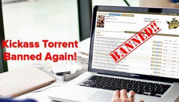 KickAss Torrents Blocked