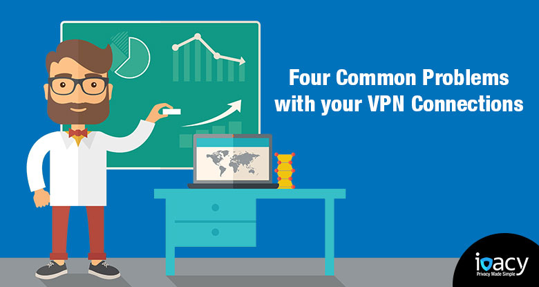 Four Most Common problems with your VPN connection