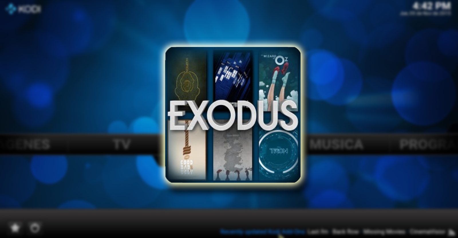 Image result for exodus kodi addon