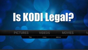 Is Kodi Illegal