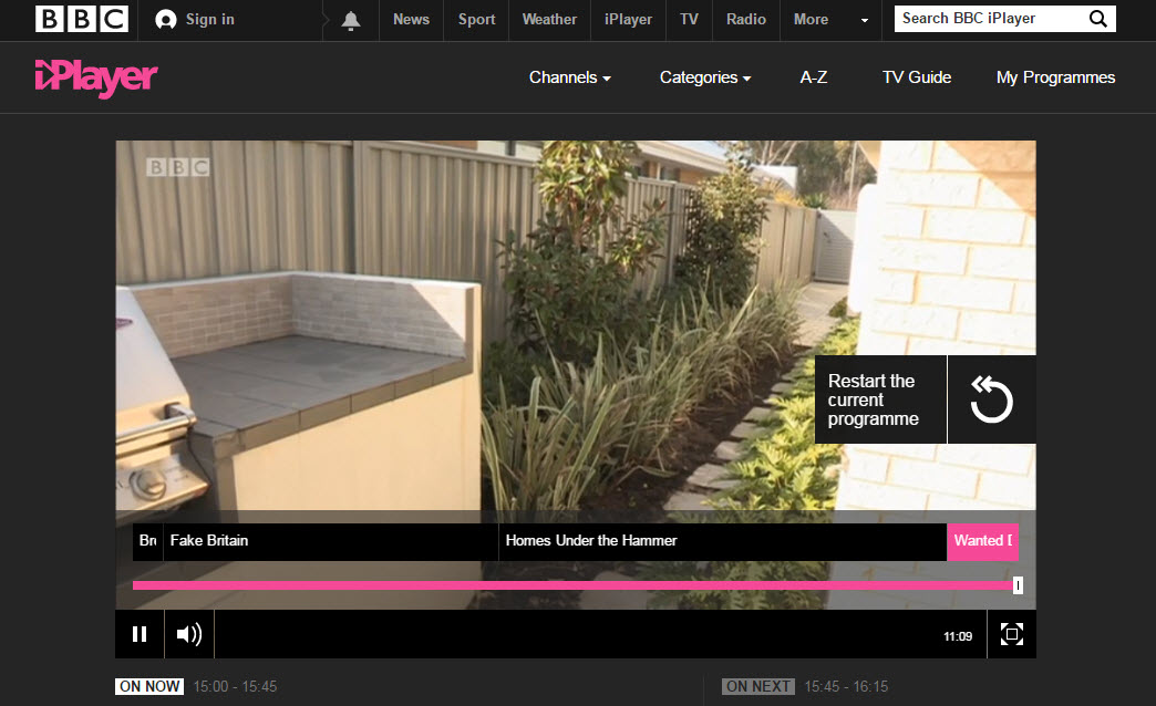 How to watch bbc iplayer abroad android