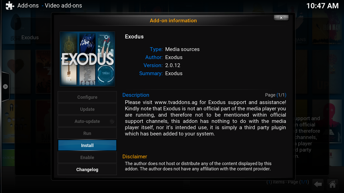 kodi how to download exodus