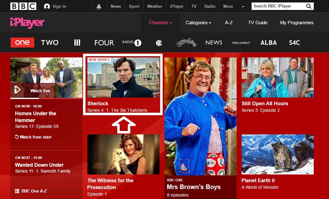 How To Watch Sherlock Season 4 Online Outside UK