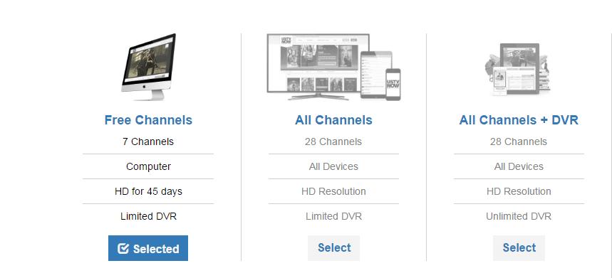 Subscription Plans for USTV Now Plus
