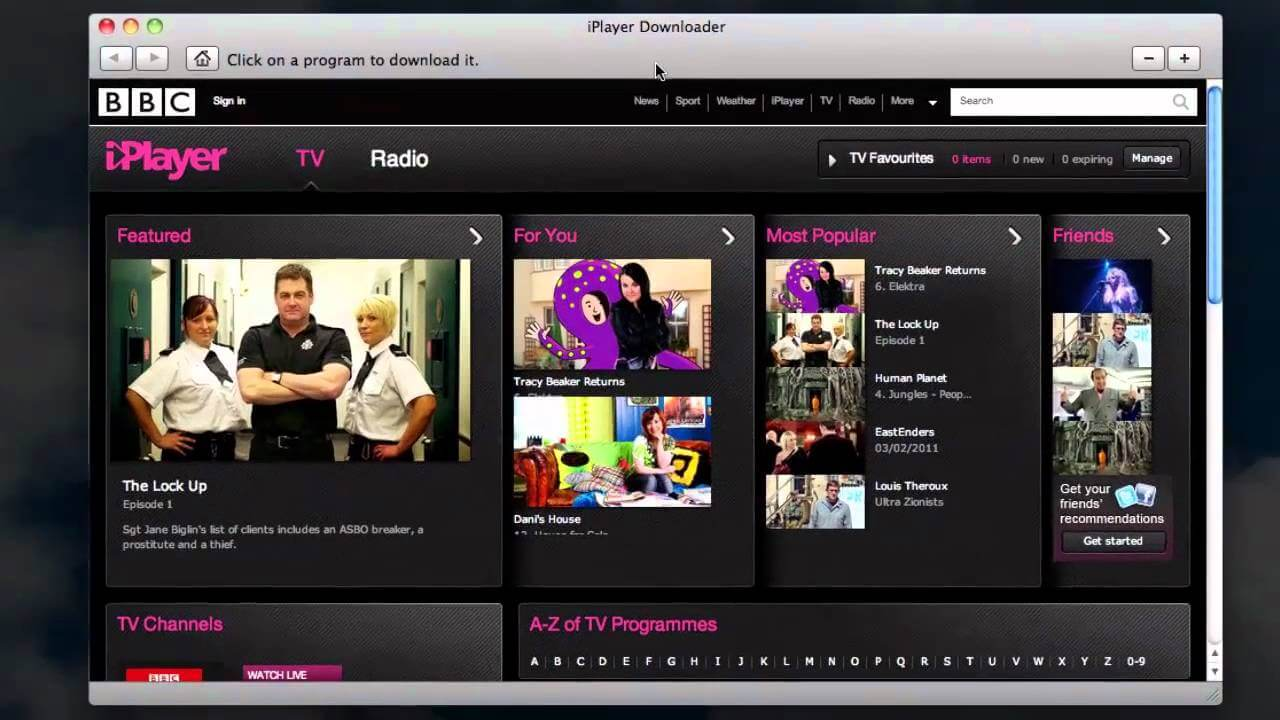 Watch BBC One on Mac