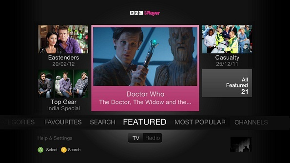 Watch BBC One on Xbox