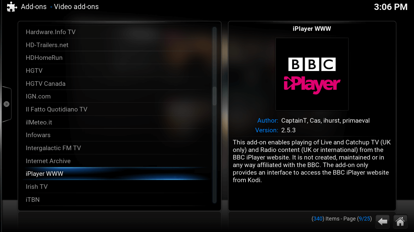BBC One HD Available online on BBC Player!