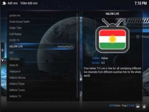 Halow Live TV Kodi Football Addon