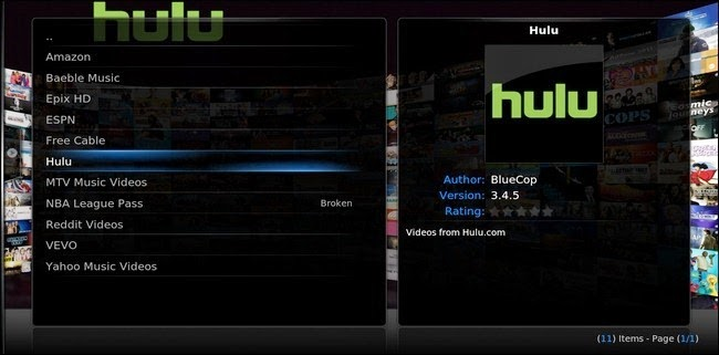 How TQo Install Hulu on Kodi