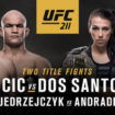 Watch UFC 211 on PS4