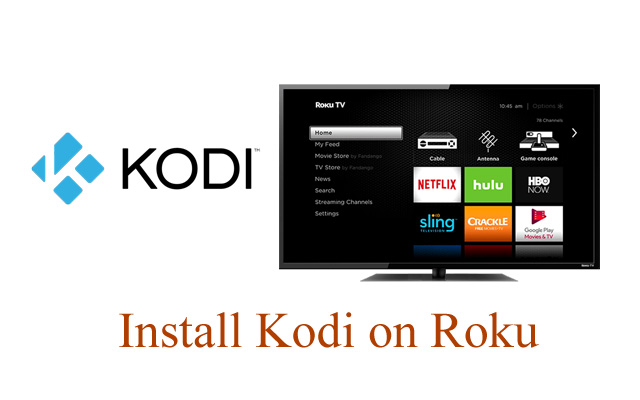 Add Kodi to Roku