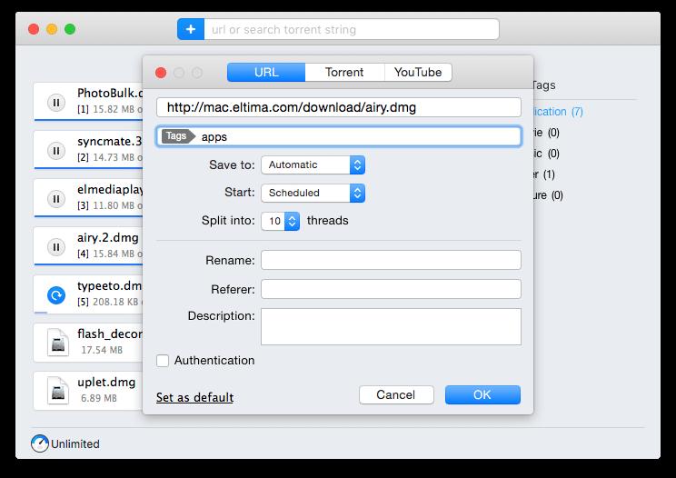 torrent trackers mac apps