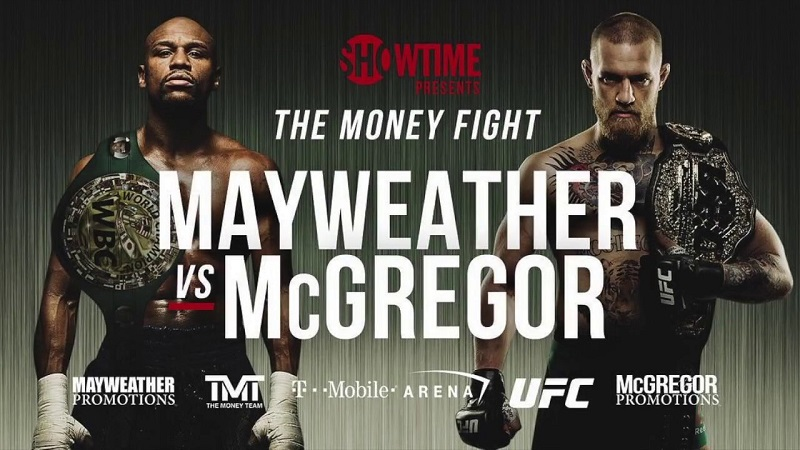 Stream Mayweather vs McGregor On PS4