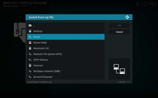 Nfusion hd epg not updating