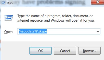 remove skype app data